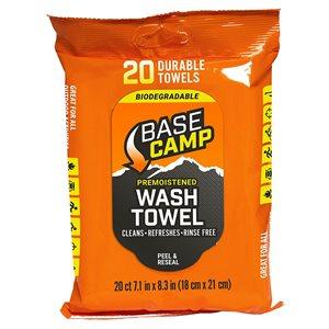 Camp Wash Towel- Biodegradable- Base Camp