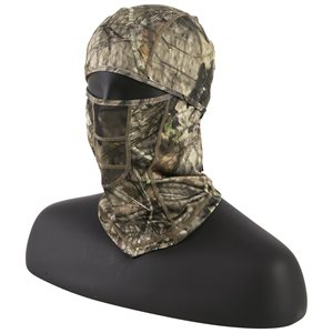 BALACLAVA FACE MASK WITH MESH, MOSSY OAK COU