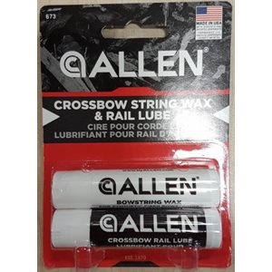 CROSSBOW STRING WAX / RAIL LUBE COMBO