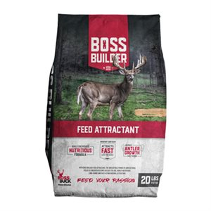 BOSS BUILDER FEED ATTRACTANT 20LBS