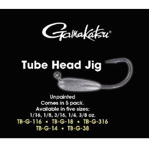 1 / 4oz Tube Head JigUnpainted