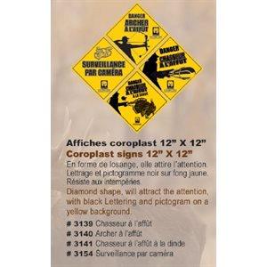 """AFFICHE CORO J & N """"ARCHER A L'AFFUT"""" GRANDE-12"""