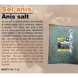 ANISE SALT 15 KG