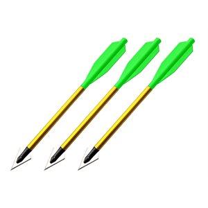 BOLT Crossbows® Broadhead Hunting Bolts 3 Pack