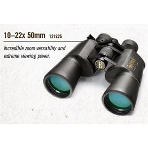 10-22X50MM BLACK PORRO PRISM, WATER RESISTANT ZOOM, BOX