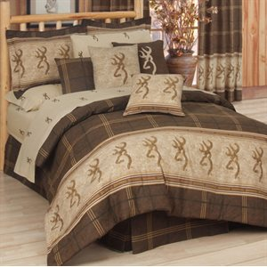 BROWNING BUCKMARK COMFORTER SET FULL