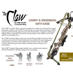 CLAW CROSSBOW SLING – CAMO