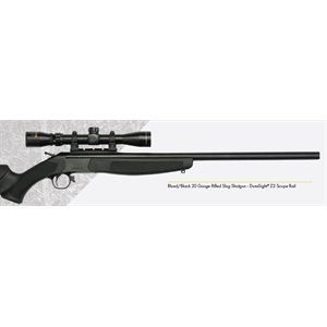 HUNTER™ COMPACT Blued / Black – 20 Gauge Shotgun