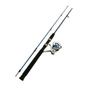 FISHING ROD 1,8M / 6' 2 SECTION AVEC MOULINET