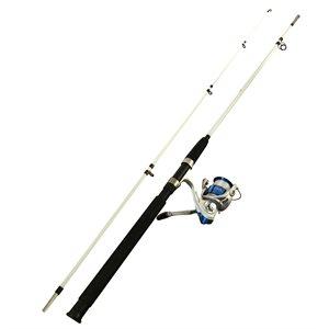 FISHING ROD 2,4M / 8' 2 SECTION AVEC MOULINET