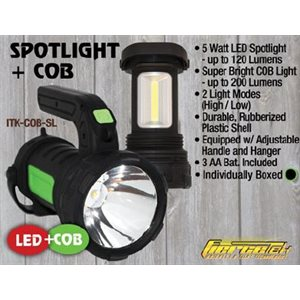 COB Spot Light, 5 Watt spot light with 150 Lumens, COB bar w
