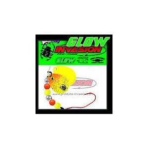 GLOW Orange et Chartreuse (Hologramme Argent)