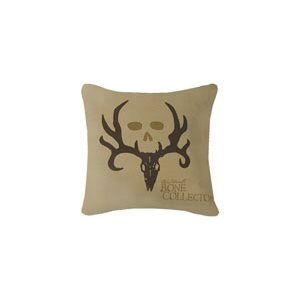 BONE COLLECTOR SQUARE LIGHT PILLOW