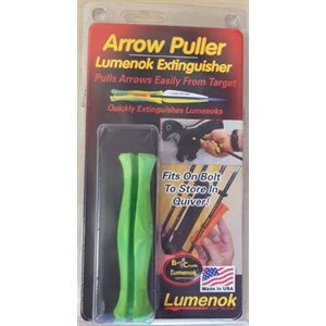 Arrow Puller Extinguisher -- Green / Yellow
