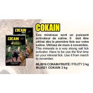 COKAIN AUX FRUITS ORIGNAL / CHEVREUIL 3 KG8PACK