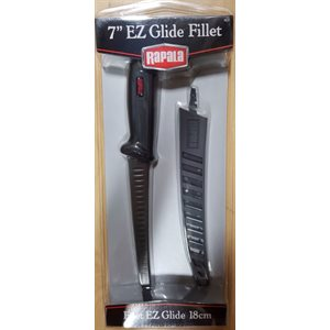 "Rapala EZ Glide Knife 7"" Scalloped Blade"