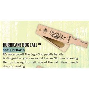 Hurricane Waterproof Box Call