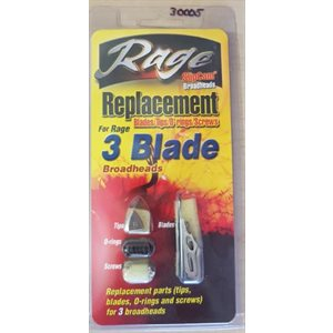 3 blade Replacement packs