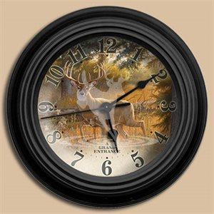 "10"" dia. Wall Clocks A GRAND ENTRANCE"