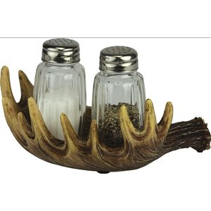 Salt and Pepper Shakers - Moose Antler