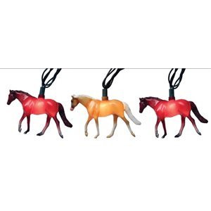 10 PC HORSE LIGHT SET