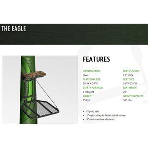 the eagle - 20X24'' platform