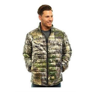 DOWN CAMO JACKET LARGE