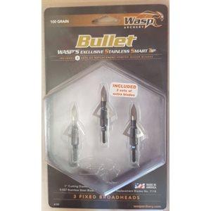 Bullet 100 (3 per pack)