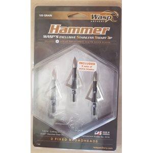 Hammer SST 100 (3 per pack)