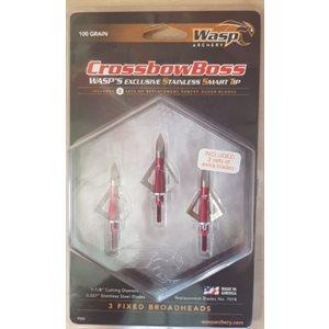 Crossbow Boss 100 (3 per pack)