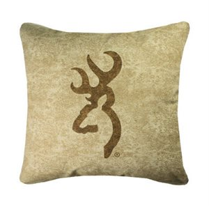 BUCKMARK PILLOW TAN